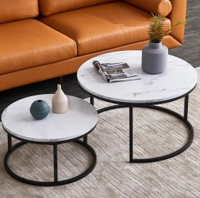 nesting tables table coffee round sets living modern simple benhart frame inch marble walmart end latitude furniture