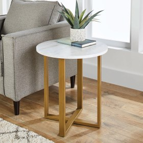 table side marble modern room faux better homes walmart lana gardens tables end living ideal any base steel garden target