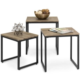 table coffee piece furniture nesting sets tables living end choice modern accent stackable lounge brown clearance walmart lightweight space stacking