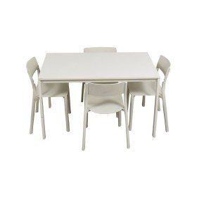 ikea white kitchen table and chairs used
