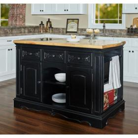 kitchen granite island islands powell natural pennfield sand base company colors carts depot removable sideboards homedepot
