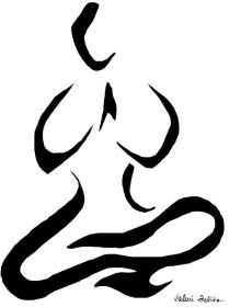 meditation yoga drawing drawings line simple felice valerie pose poses buddha tattoo lines hand drawn 18th uploaded august medium which