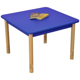 tables classroom square adjustable welded duraform fully colour orange edging supplied environmentally rounded protective ends abs friendly yellow