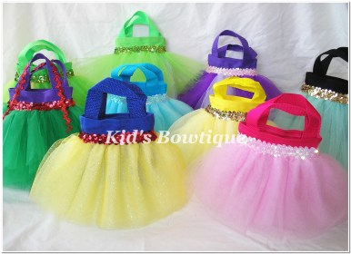 princess bags party tutu favor disney birthday gift bag favors princesses goodie idea theme inspired tote gifts fun something request