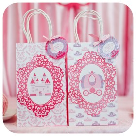bags gift princess party birthday