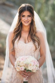 veil hairstyles hair down wedding long well weddmagz throughout liked hairstyle
