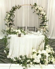 Decoración para ceremonia de boda civil Tendencias 2019