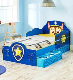 bed patrol paw storage toddler chase cot drawers candy drawer colour pepperfry beds