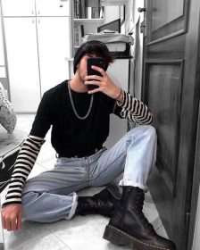 boy eboy outfit aesthetic generation outfits edgy boys clothes grunge soft trend craze male outfitfashion vagazine pic tok tik 20s