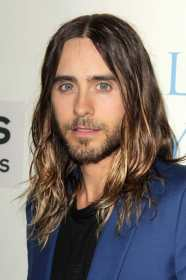 hairstyles hair long thick mens male haircut layered medium highlights haircuts styles cut young brown songwriters singer leto jared famous