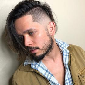 long hairstyles fade hair side haircuts straight haircut hairstyle cool latest temple menshairstyleswag