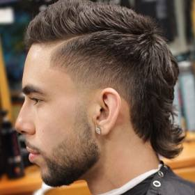 mullet fade hairstyles haircut mullets short hair styles mohawk burst different sides fades cool tapered 2021