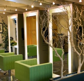 salon mirror hair floor modern interior hairdressing mirrors contemporary designs attract customers commercial booth architecture orange county