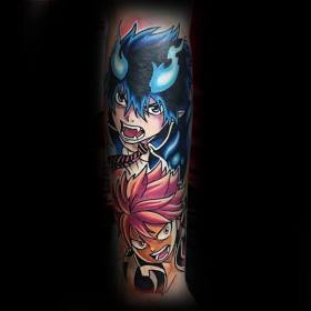anime tattoos tattoo sleeve forearm guys japanese cool manga character rich designs inspiration certainly satisfied artistic pull choose base leave