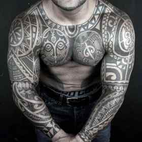 shoulder tattoo tribal tattoos guys mens popular most awesome