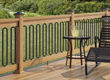 deck railing iron backyard railings decks guardrails fancy country rod porch wrought handrails baluster choosing wine right idea via front