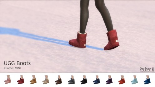 UGG Boots Classic Mini at Paulean R Sims 4 Updates