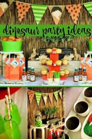 party dinosaur birthday prehistoric parties cool themes boys themed food boy games decorations theme fun candy th