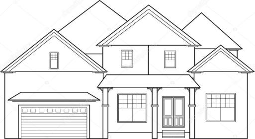 storey clipart without drawing outline illustration perspective garage vector point illustrations kometa depositphotos