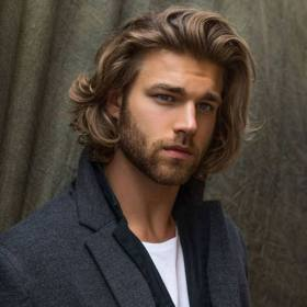 hairstyles long styles cool mens dignified
