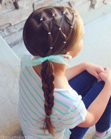 hairstyles toddler braid hair try side netted hairstyle easy simple short styles hairdos tonight materialicious haircuts haircut tweet quick braided