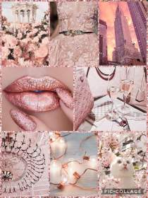 aesthetic rose gold pink background hd exclusive