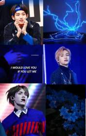 NCT Aesthetic Wallpaper (WinWin/dark blue) Requested NCT