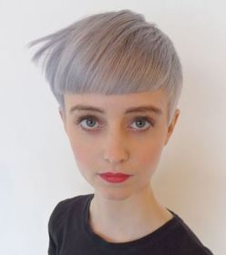 pixie bangs blunt cut short haircuts funky hairstyle bowl way