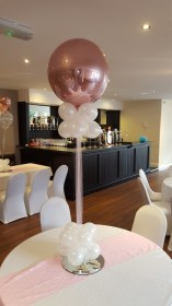 Rose Gold balloons Party Blowout