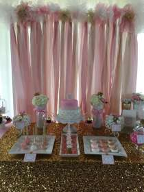 Pink and Gold Baby Shower Baby Shower Party Ideas Photo