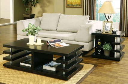 tables living end coffee wooden cherry budget