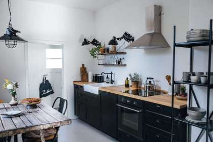 Our Home Stories Ikea kitchen Remodelista 1