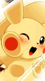 kawaii iphone wallpapers cute pikachu pokemon anime chibi baby