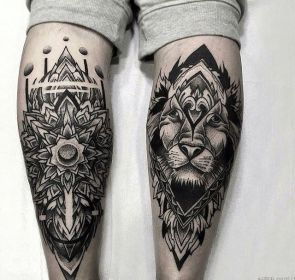 1000+ images about Shin tattoos on Pinterest Samoan