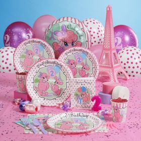 birthday party 2nd theme parties themes themed paris baby ava toddler decorations 1st daughter celebration fun second supplies pack decoration