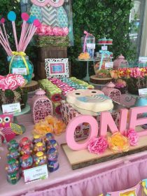 birthday party theme owl 1st parties themed decorations owls frozen catchmyparty birthdays stay activities