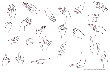 hands anime draw drawing holding something hand tutorial 1400 tutorials reference sketches correctly them know sketching feet