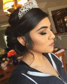 hairstyles quinceanera crown wear updo quince sweet crowns makeup birthday stylish simple peinarme auxilio como stunning gorgeous haircut absolutely frisuren