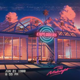 aesthetic retro y2k wallpapers baddie futurism neon backgrounds midnight vaporwave synthwave 90s landscape 80s iphone june past arcade chill cyberpunk