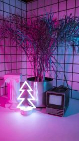 aesthetic neon pink purple wallpapers backgrounds phone wallpaperaccess baby room mari shared
