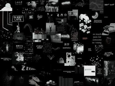 laptop collage aesthetic wallpapers backgrounds wallpaperaccess