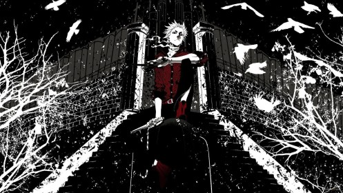 Black and White Anime Aesthetic Wallpapers Top Free