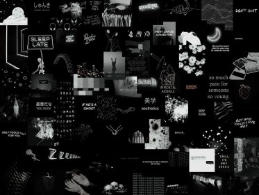 aesthetic laptop wallpapers desktop collage dark computer grunge wallpaperaccess pc backgrounds hd cave background laptops wallpapercave horizontal potter harry quotes