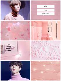 aesthetic wallpapers pink got7 backgrounds wallpaperaccess amino