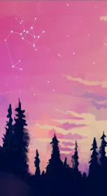 aesthetic wallpapers pink galaxy