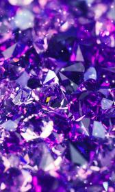 aesthetic purple wallpapers crystal cave
