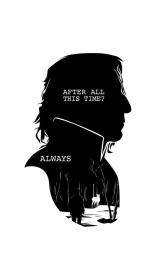 potter harry always snape quotes aesthetic silhouette quote wallpapers severus drawing rickman alan professor words illustration books hogwarts society6 behind