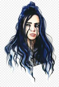 billie eilish background drawing hair clipart aesthetic aesthetics wallpapers transparent music iphone beauty vẽ hiclipart