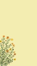 pastel yellow wallpapers aesthetic