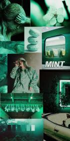 aesthetic mint dark wallpapers billie eilish computer iphone pastel backgrounds cool aesthetics colors cameras wallpaperaccess colorful wallpapersalbum paper retro cave